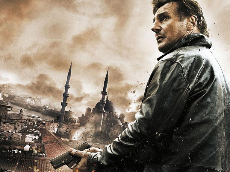 Taken 2 Movie in Istanbul Turkey