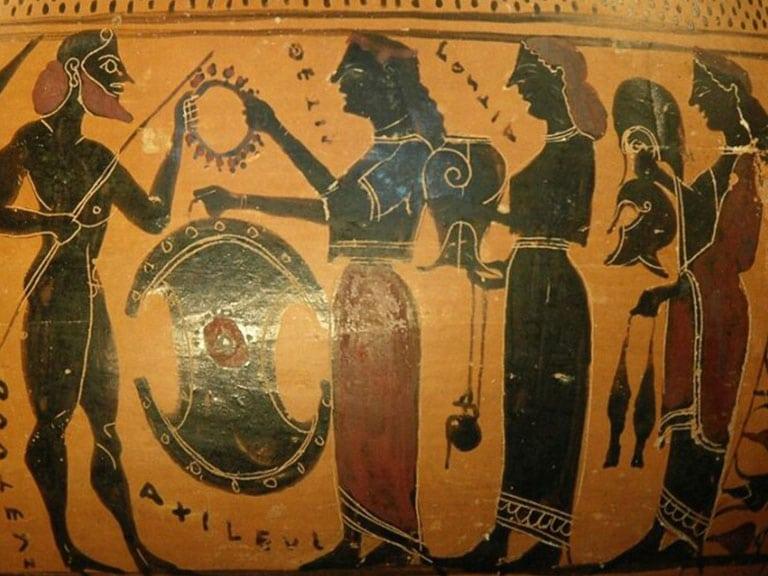Trojan War Ceramic