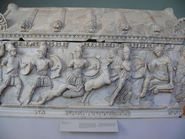 Trojan War Sarcaphagus