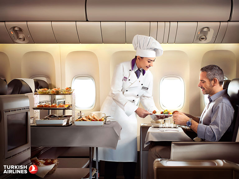 Turkish Airlines World-Class Service