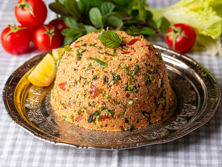Vegan Kisir Turkish
