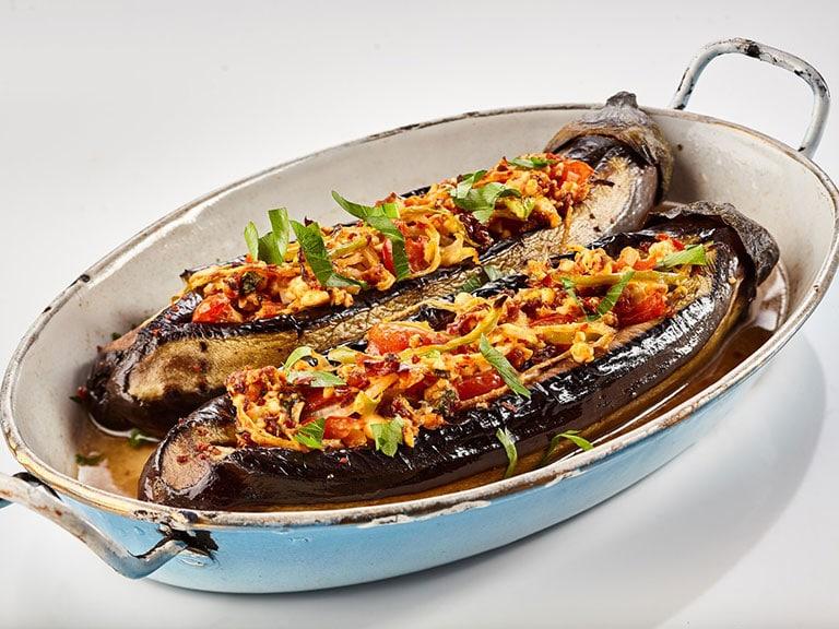 Vegan Turkish Eggplant Dish