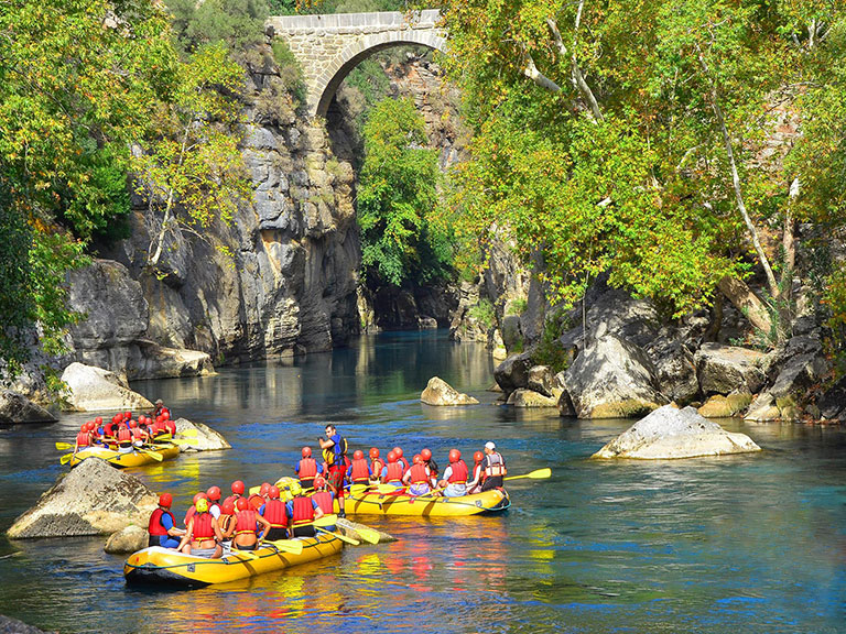 Antalya Rafting Adventure