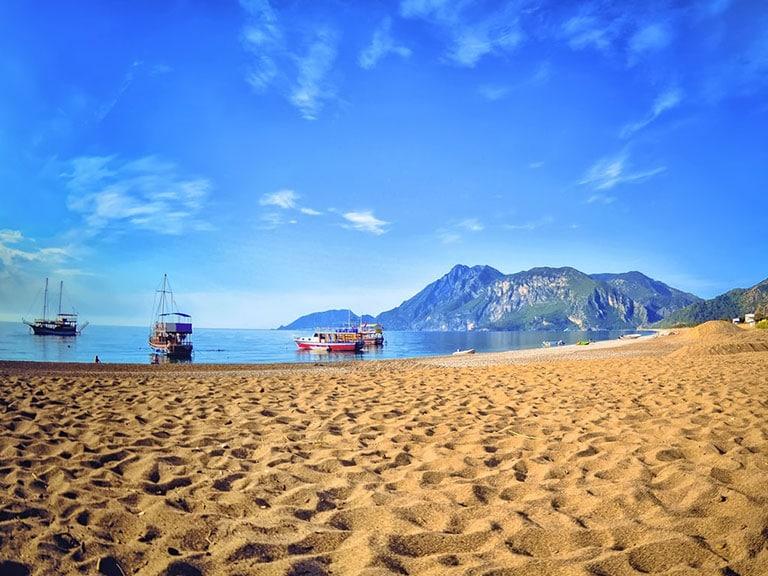 Cirali Olympos Beach