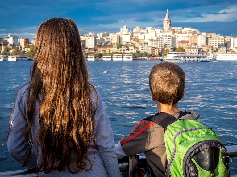 Istanbul Bosphorus Cruise Family Vacation
