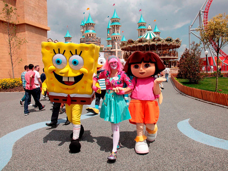 Istanbul Vialand Entertainment Park for Kids