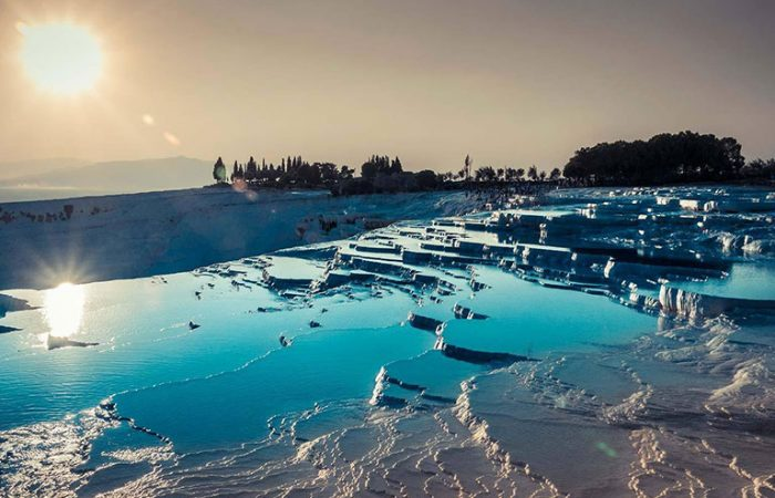 Natural Hot Pools Pamukkale