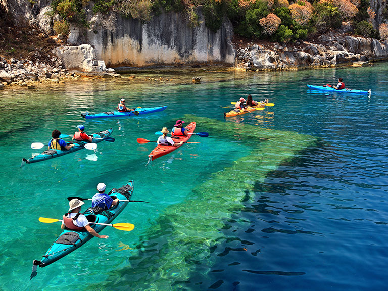 Sea Kayak Kekova Family Trip
