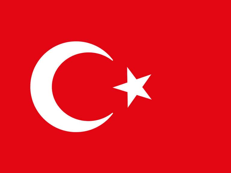 Turkish Flag Today