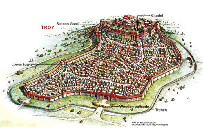 Plan of Troy