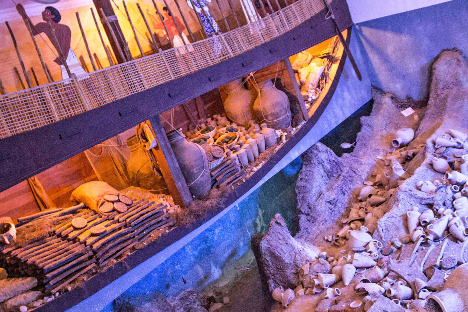 Tour Photos Museum of Underwater Archeology