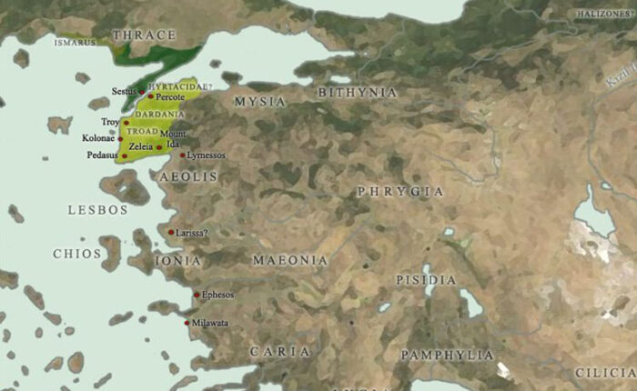 Troas Map