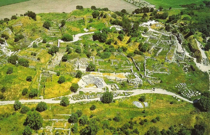 Troy Aerial View
