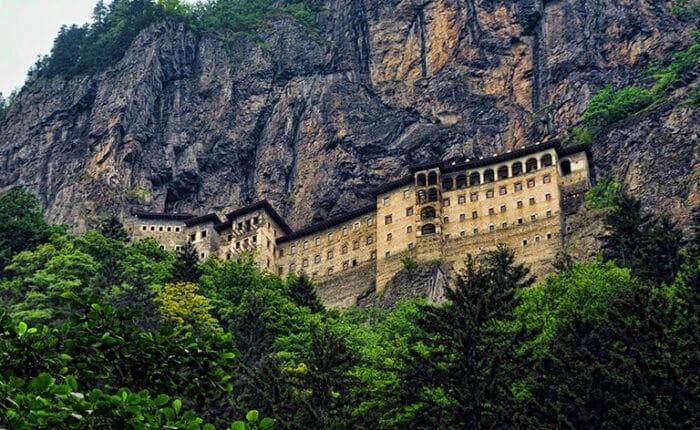 Black Sea Region Sumela Monastery