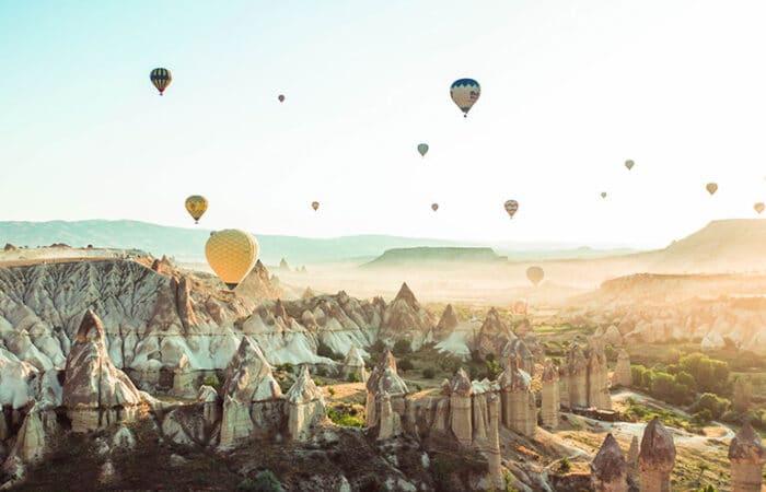 Cappadocia Love Valley Balloons