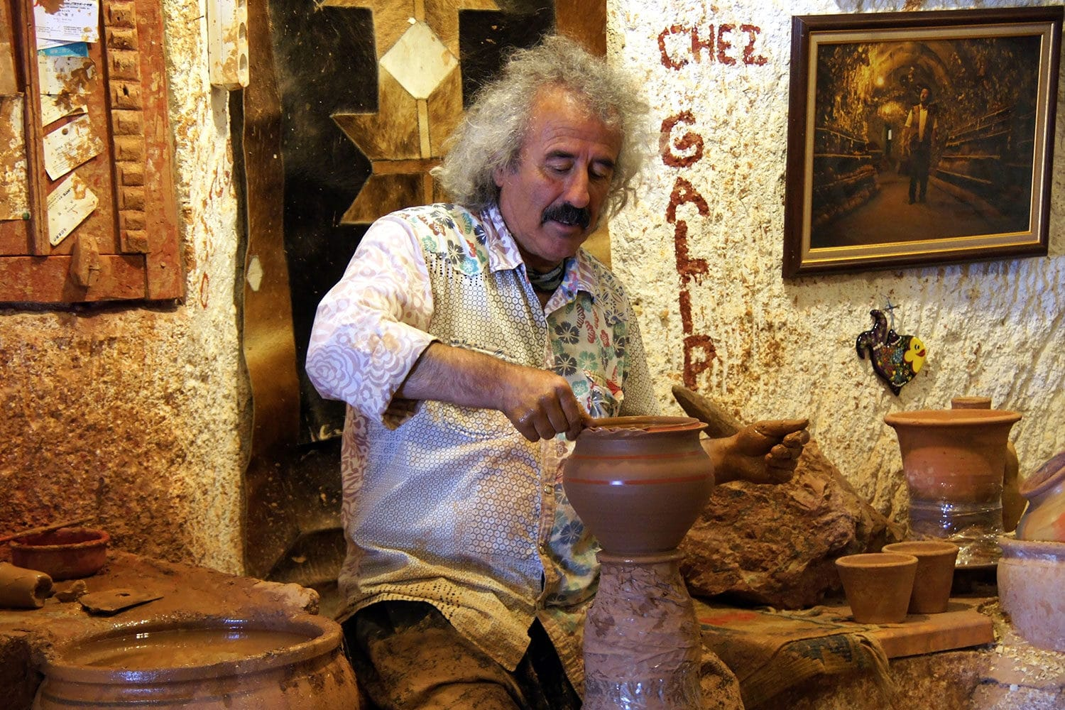 Tour Photos Avanos Pottery Galip