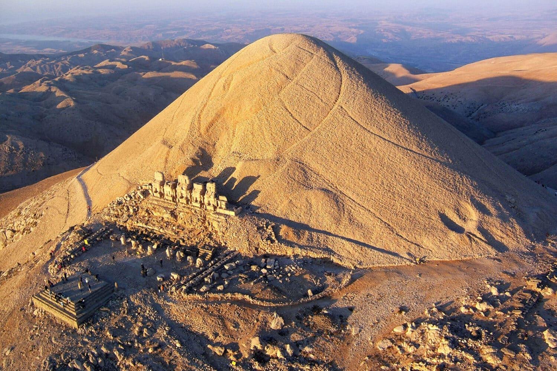 Tour Photos Mount Nemrut Aerial
