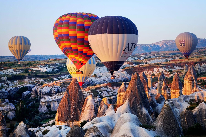 Cappadocia Balloons Winter
