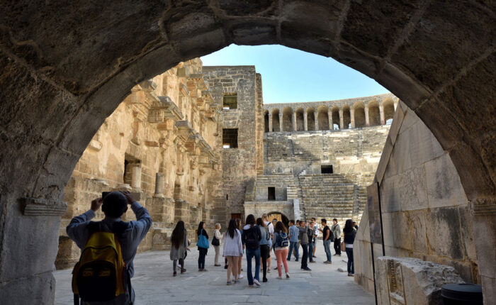 Perge Aspendos Side and Manavgat Tour