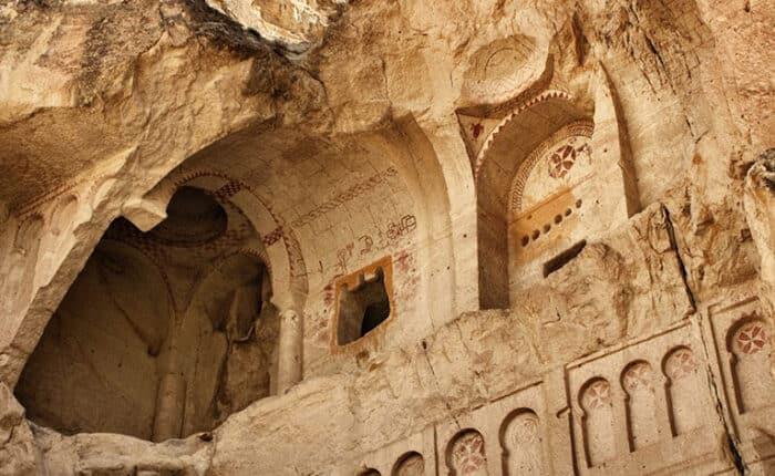 Rock Cut Churches Cappadocia Dark Church