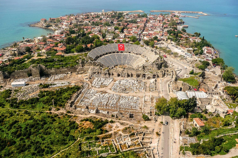 Tour Photos Antalya Side Aerial