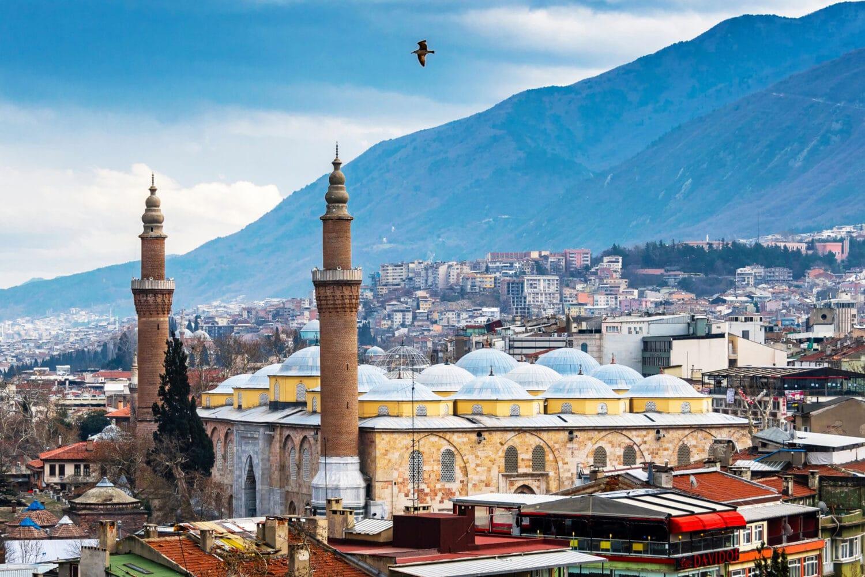 Tour Photos Bursa Grand Mosque