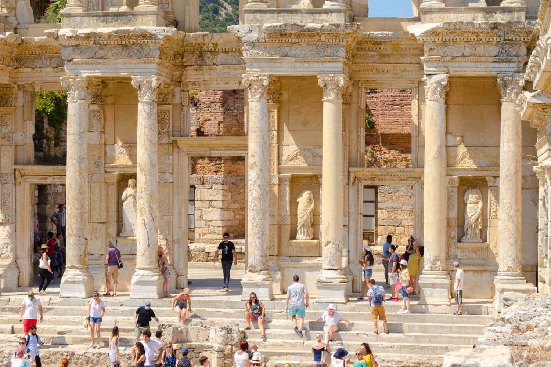 Tour Photos Ephesus Celsus Library