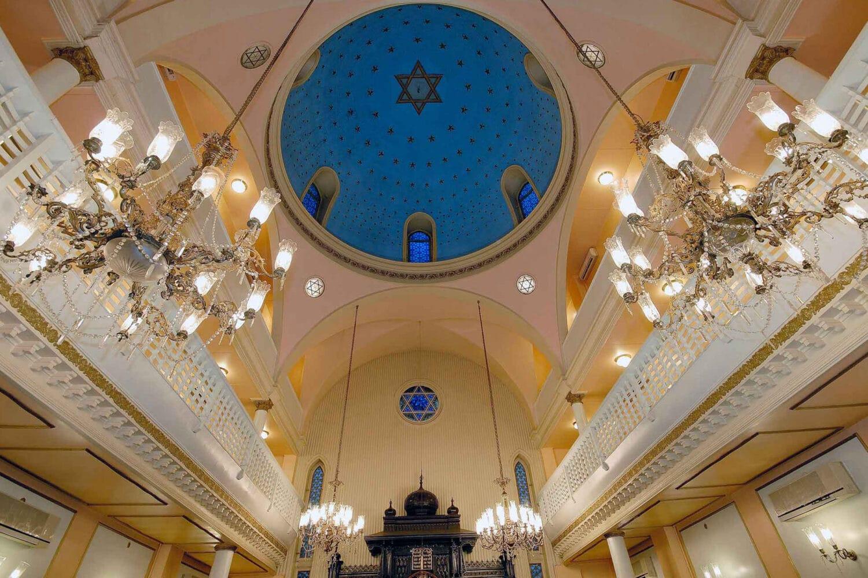 Tour Photos Galata Ashkenazi Synagogue Dome