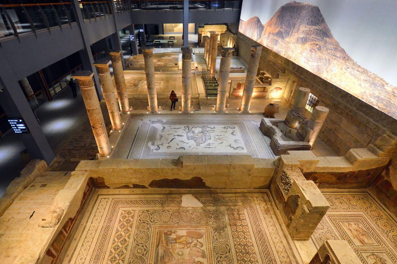 Tour Photos Gaziantep Zeugma Mosaic Museum