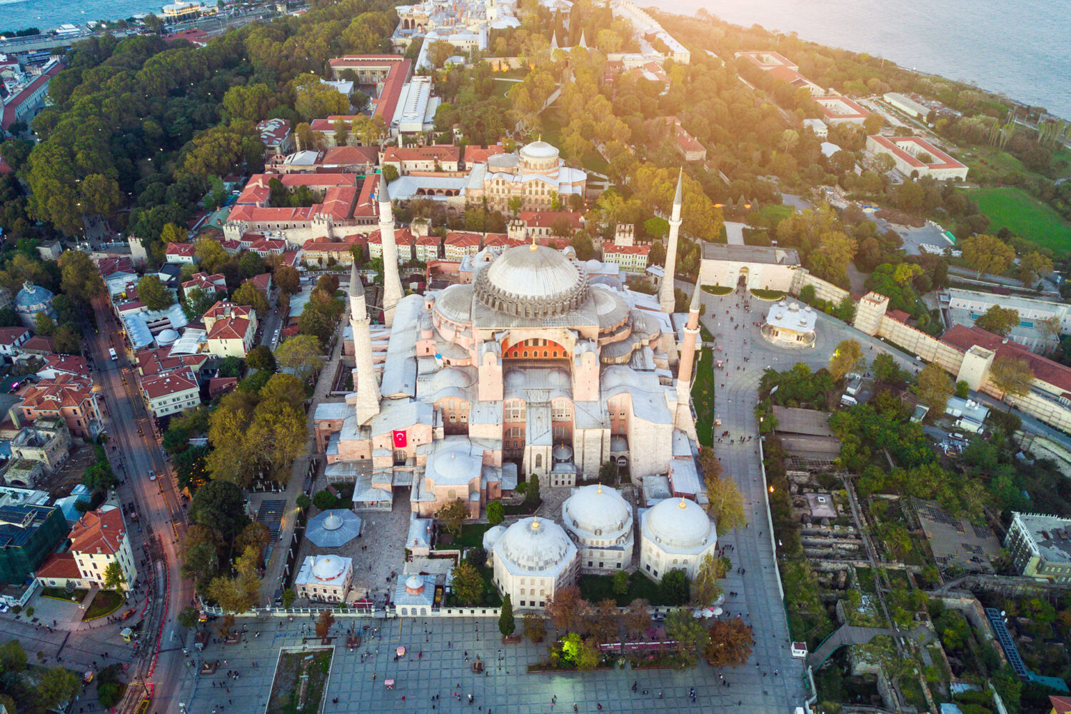 Tour Photos Hagia Sophia Museum Aerial