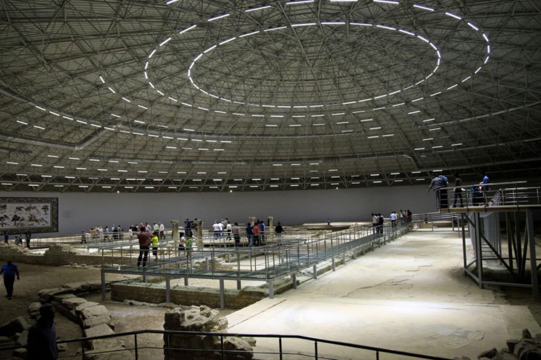 Tour Photos Haleplibahce Mosaic Museum