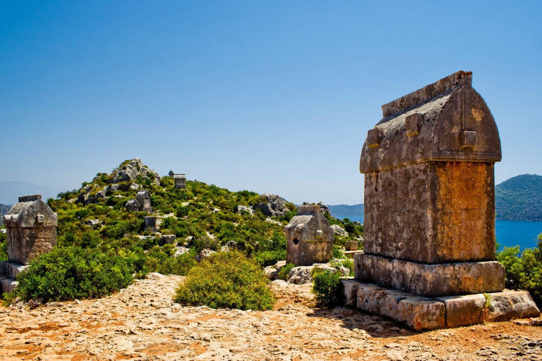 Tour Photos Kekova Lycian Tombs