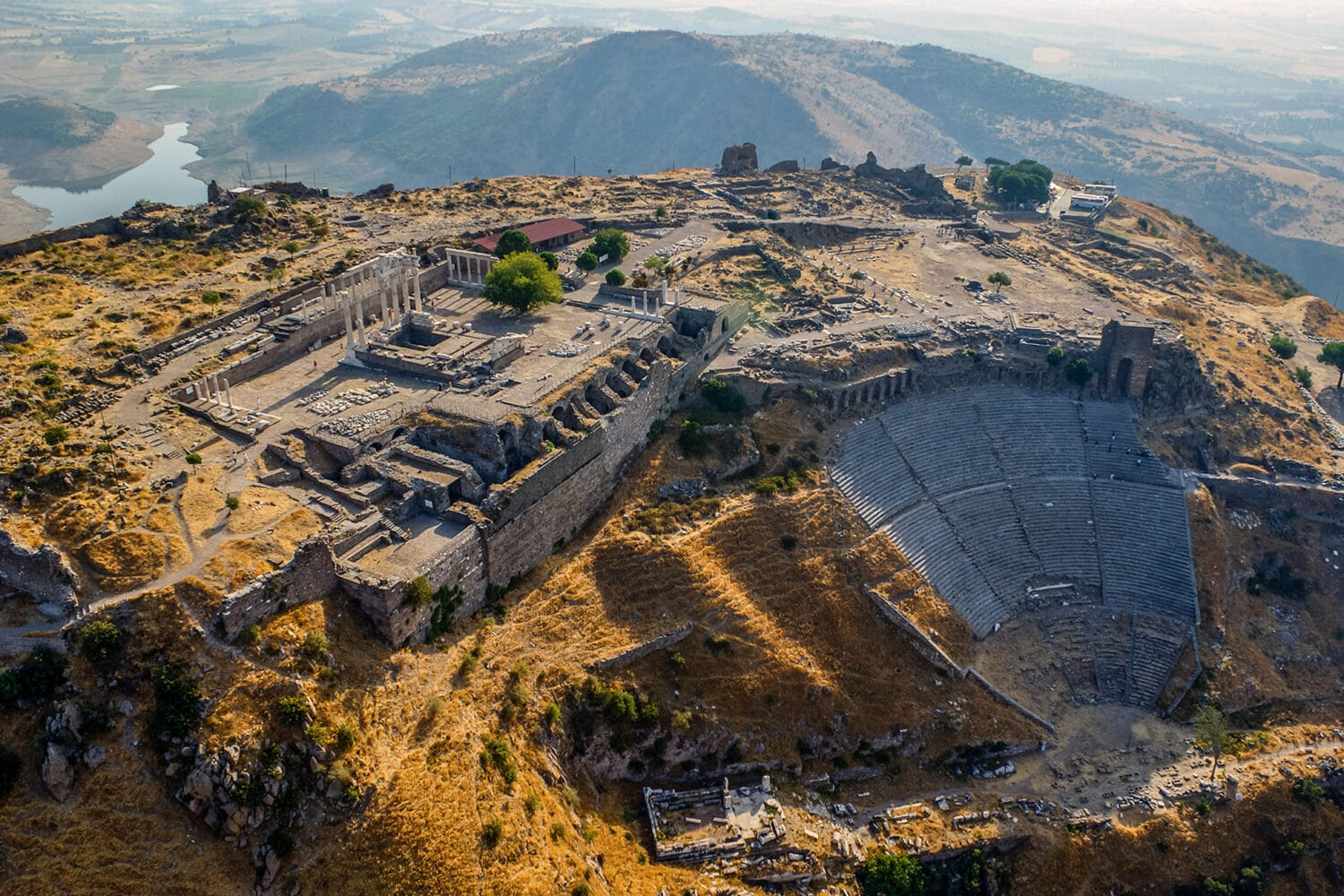 Tour Photos Pergamon Aerial