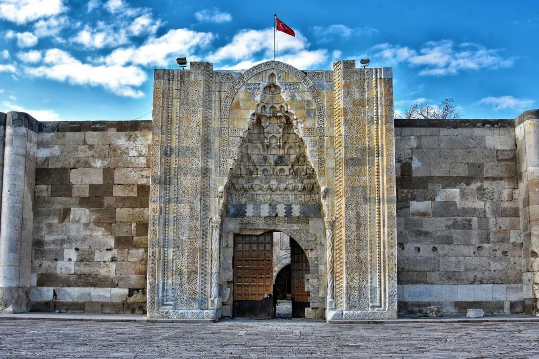 Tour Photos Sultanhani Caravanserai Door