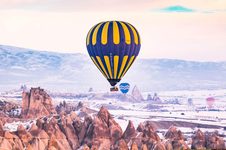 Tour photos winter ballooning in Kapadokya