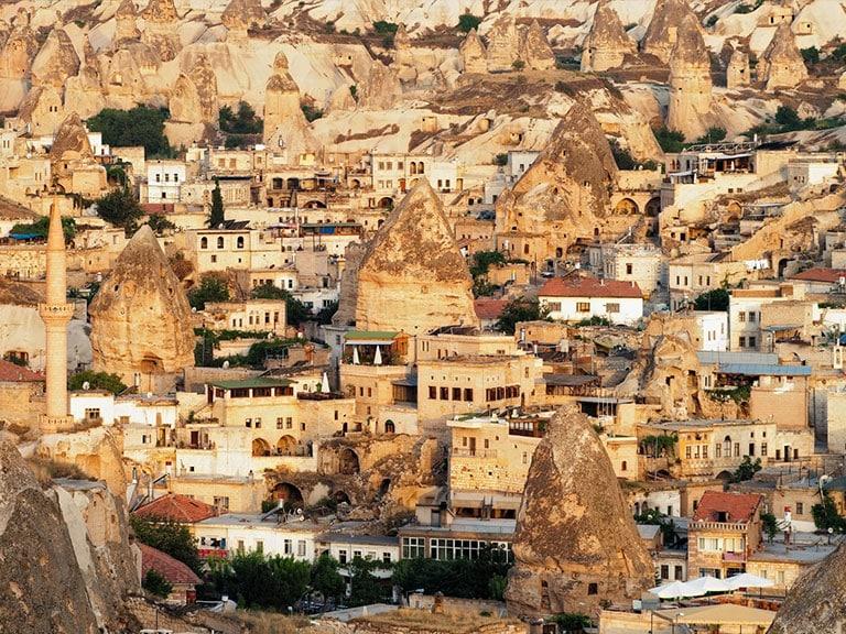 Amazing Cave Town Goreme Cappadocia
