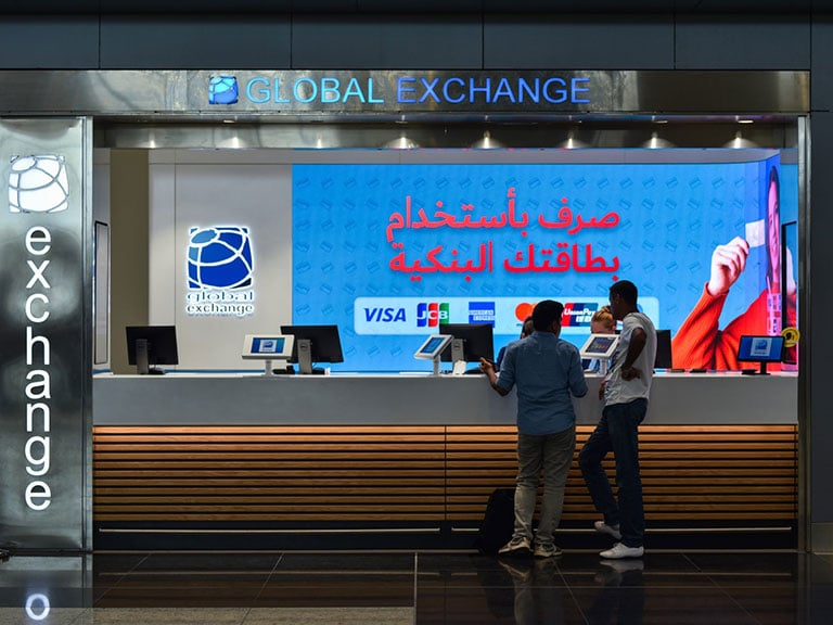 Exchange at Istanbul Airport