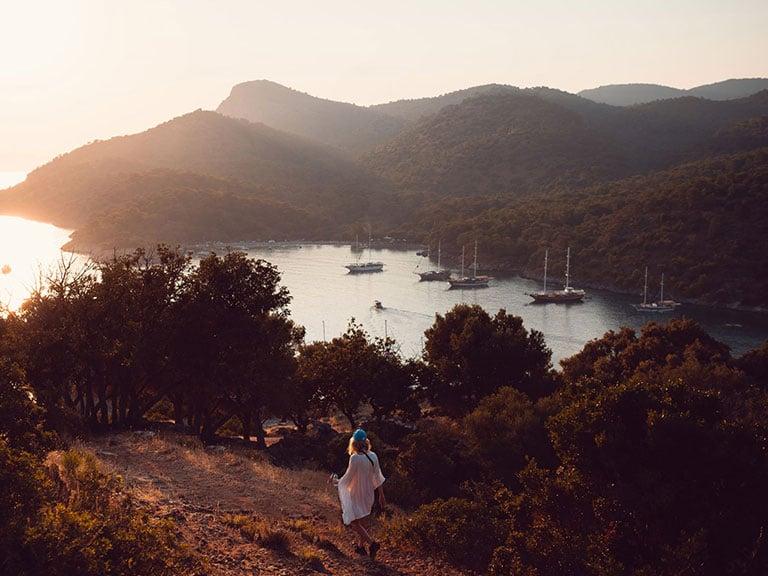 Fethiye Gemiler Island St Nicholas Gulets