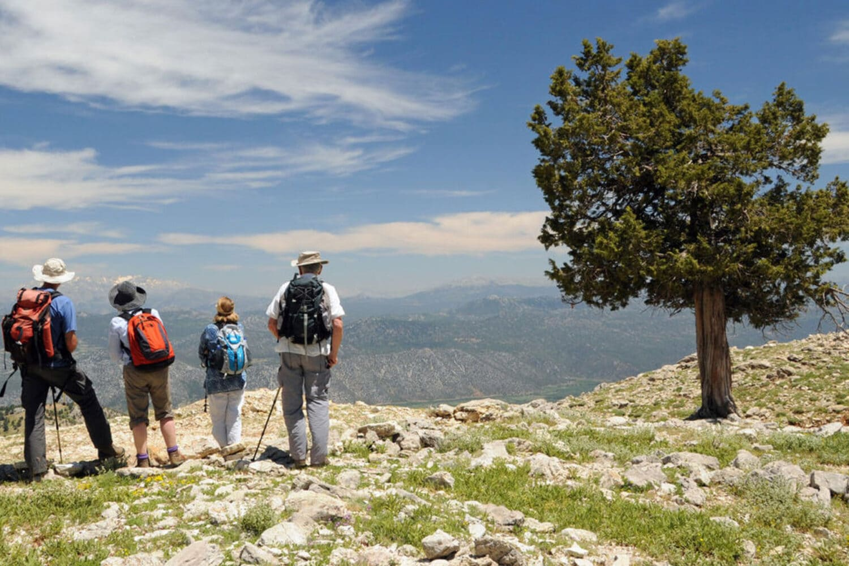 Lycian Way Friends Group Enjoying the View