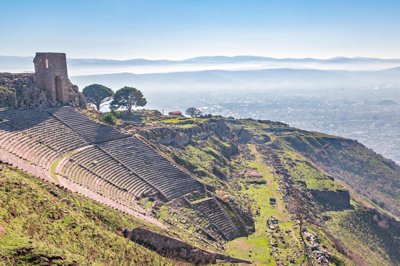 Pergamon Ancient Site Turkey Trip