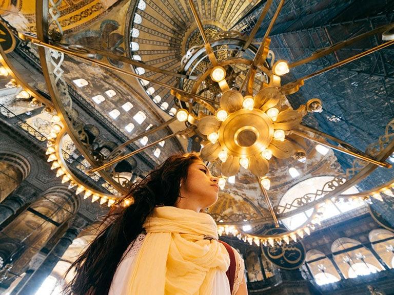 Solo Traveler Hagia Sophia