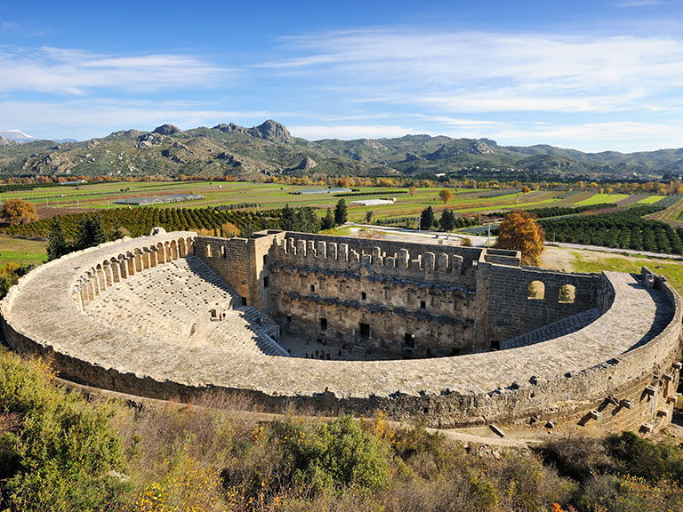 Top Places Aspendos Theater Antalya