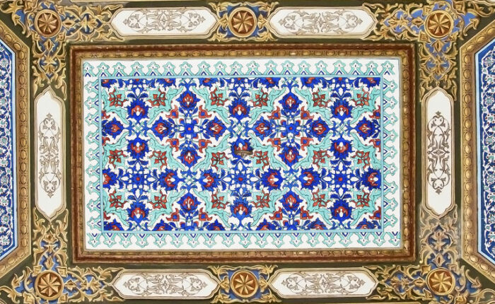 Topkapi Palaces Tiles Dome