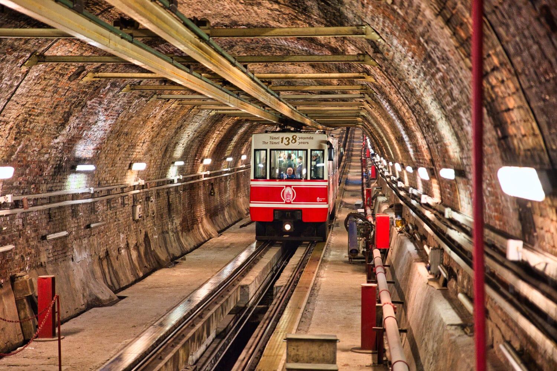 Tour Photos Istanbul The Tunnel Subway