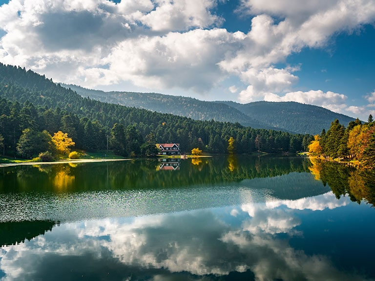 Bolu Abant Lake Beautiful View