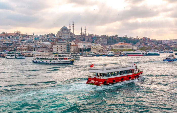 Bosphorus Cruise by Public Ferry