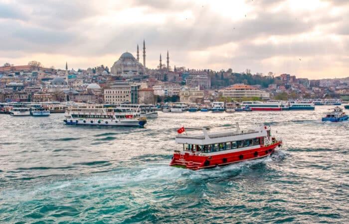 Bosphorus Cruise by Public Ferry