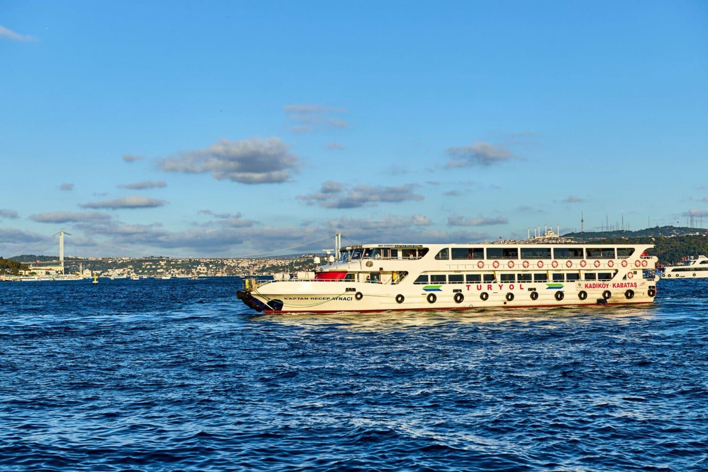 Bosphorus Cruise Public Ferry Turyol