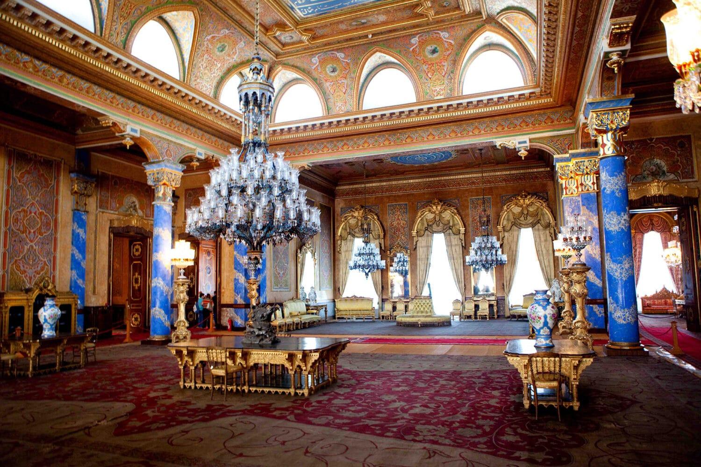 Tour Photos Beylerbeyi Palace Interior