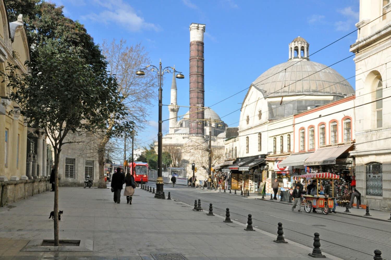 Tour Photos Column of Constantine Istanbul